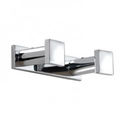 PERCHA DOBLE METRIC INOX 38.30.02.021